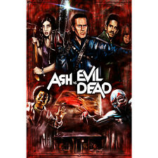 Ash vs Evil Dead Tv Series Silk Poster 13x20 24x36 inch Wall Decor 012