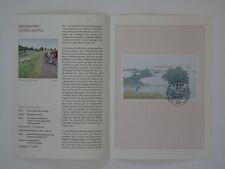 (03j29) Bund Erinnerungsblatt 2003 mit ESST Mi.Nr. Block 62 unteres Odertal