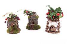 """3tlg. Décorations pour arbre de Noël """" Nichoir """""""