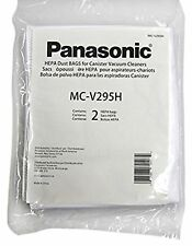 Panasonic MC-V295H Type C-19 Canister HEPA Vacuum Bag, Pack of 2