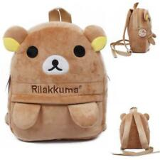 Japanese San-X Rilakkuma Relax Bear Animal Kids Backpack Kindergarten School Bag