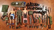 "Military 12"" Toy Figure Doll Lot GI JOE Max Steel Action Team Weapon Accesory"