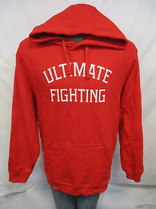 Ultimate Fighting Men 3XL Red Pullover Hooded Sweatshirt Big & Tall MMA A9MRB