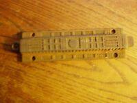 "Antique Cast Iron Victorian Eastlake Chain  Pull   8 1/4""  Door Latch"