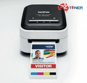 Brother VC-500W Wireless Color Thermal Label Maker/Printer+AirPrint