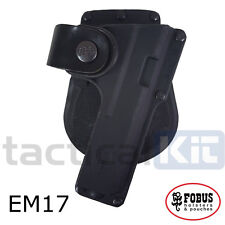 Fobus Glock 17 Tactical Light Laser Bearing BELT HOLSTER EM17 BH