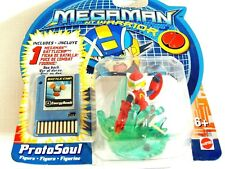 NEW  IN PACKAGE  1- MEGAMAN  NT WARRIOR -METALSOUL  FIGURE-MATTEL