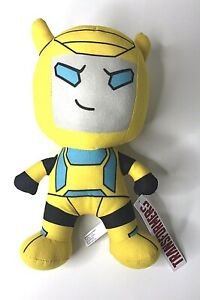 """Transformers Kawaii Yellow Bumblebee 11"""" Plush Toy Officially Licensed"""