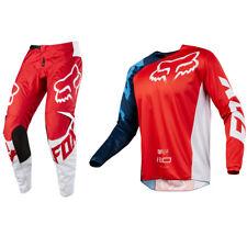 Fox Racing 180 Motocross MX Kit Pantaloni Maglia - Race Rosso