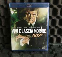 007 VIVI E LASCIA MORIRE - FILM IN BLU-RAY - Albert R. Broccoli Roger Moore