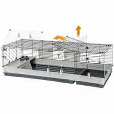 Rabbit Cage Guinea Pigs Large Spacious Accessories Robust Nesting Area Platform