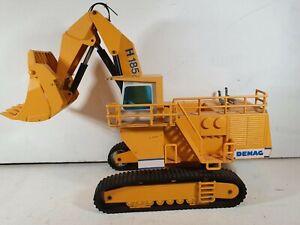 NZG Demag 1:50 H 185 Excavator Tracked Yellow West German