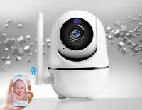 TELECAMERA IP CAM CAMERA HD 720P WIRELESS LED IR TF MOTORIZZATA WIFI V380 CAM