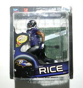 Brand New McFarlane Toys NFL Series 32 Ray Rice Regular Baltimore Ravens Figure