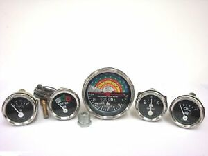 IH-Farmall Tractor Gauges Kit Gas Diesel 300 350 460 560 Tachometer 2000RPM