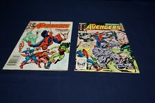 MARVEL COMICS AVENGERS #236-237 SPIDER-MAN JOINS 1983 MEDIUM GRADE CRISP COLORS