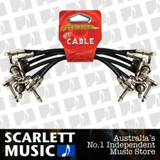 """6"""" Patch Cables Pack Of 6 Australasian AMS-617 Right Angle Flat Back Plugs"""