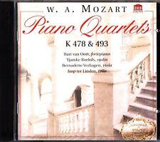 MOZART: Piano Quartets K478 & 493 CD (Bart Van Oort/Jaap Ter Linden, Cello)