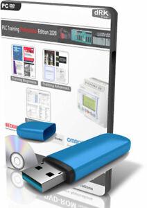 PLC Course Training Program Logic Ladder Manuals Software Pro Edition USB Stick