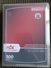 Imation 28947 - 500GB RDX Media Secure Removable Disk Storage - NEW / Sealed