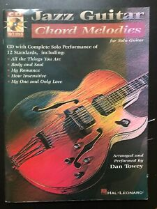 Songbook Jazz Guitar Chord Melodies