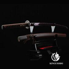 Full Tang Sword,handmade Authentic Japanese Katana Sword Sharp 1045 Carbon Steel