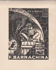 ex-libris F.Barrachina  par Estiarte