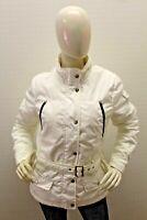 Giubbino REFRIGUE Donna Jacket Coat Bianco Giubbotto Woman Taglia Size M