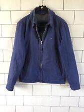 Homme Urbain Rétro Vintage bleu TOMMY HILFIGER Veste Manteau Taille Moyenne #24