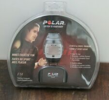 New - Polar FT4 Heart Rate Monitor - Black/Silver - Free Shipping