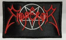 EMPEROR ( red logo & white pentagram  ) EMBROIDERED  PATCH