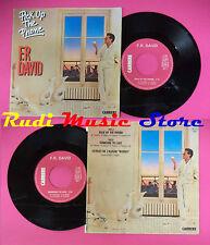 LP 45 7'' F.R. DAVID Pick up the phone Someone to love 1983 france no cd mc dvd*
