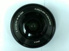 Sony SELP1650 f/3.5-5.6 PZ OSS 16-50mm Black Lens for APS-C E-mount