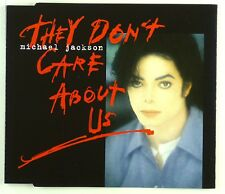 Maxi CD - Michael Jackson - They Don't Care About Us - A4496