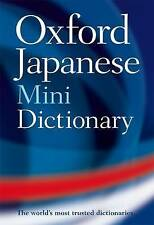 Oxford Japanese Mini Dictionary by Oxford University Press (Paperback, 2009)