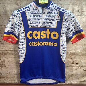 Medium 1994 Team CASTORAMA CASTO Cycling Jersey - Tour de France - VTG Retro 90s