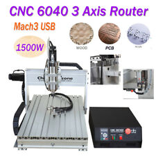 CNC 6040 3Axis Router 1500W Mach3 USB Engraving Dasktop Engraver Milling Machine