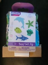New Foamies Under the Sea 5 oz. Sharks Dolphins Shells & More Foam Stickers