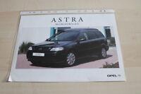 124333) Opel Astra Caravan Van - Niederlande - Prospekt 05/1999