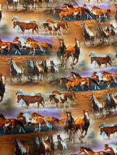 """Wild wings by David textiles 100% Cotton Quilting Fabric 29"""" piece"""