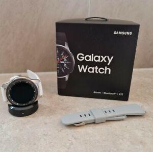 Samsung Galaxy Watch 46mm LTE Bluetooth Android Silver - SM-R805