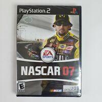 New Sealed Black Label NASCAR 07 (Sony PlayStation 2, PS2 2006)