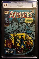 1970 Marvel Avengers #73 CGC 9.0 Cream to Off White Pages.