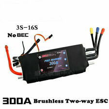 300A ESC Speed Controller for Boat Brushless Motor High Voltage for RC Boat