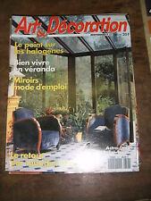 Art et Décoration N° 317 1993 Vintage Méridienne Meubles de Pays de Bray Miroirs