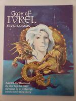 GATE OF IVREL: FEVER DREAMS GRAPHIC NOVEL 1988 1ST PRINT STARBLAZE GRAPHICS RARE