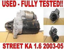 FORD STREET KA 1.6 CONVERTIBLE 2003 2004 2005 FULLY WORKING STARTER MOTOR
