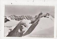 Jungfraujoch Mit Plateau & Sphinx Switzerland RP Postcard 873a