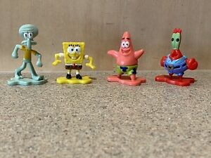 4 x Spongebob Squarepants Game of Life Replacement Pieces Tokens Movers Preowned