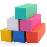 10 Buffing Sanding Buffer Block Acrylic Pedicure Manicure Nail Art Tips Tools